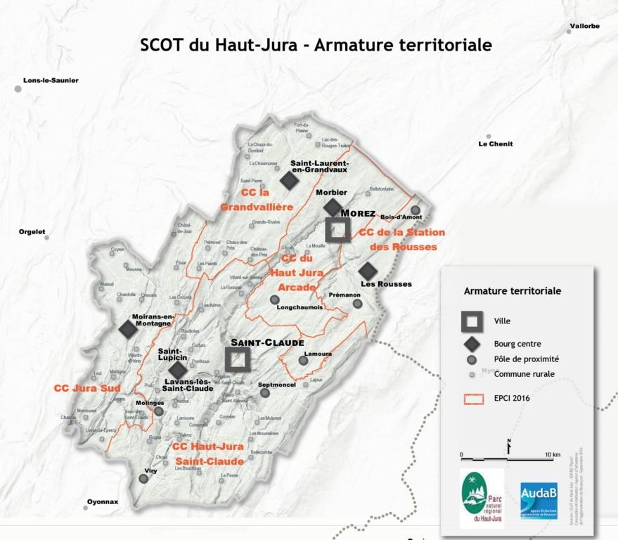 P rim tre et territoire parc naturel r gional du haut jura - Office de tourisme haut jura saint claude ...